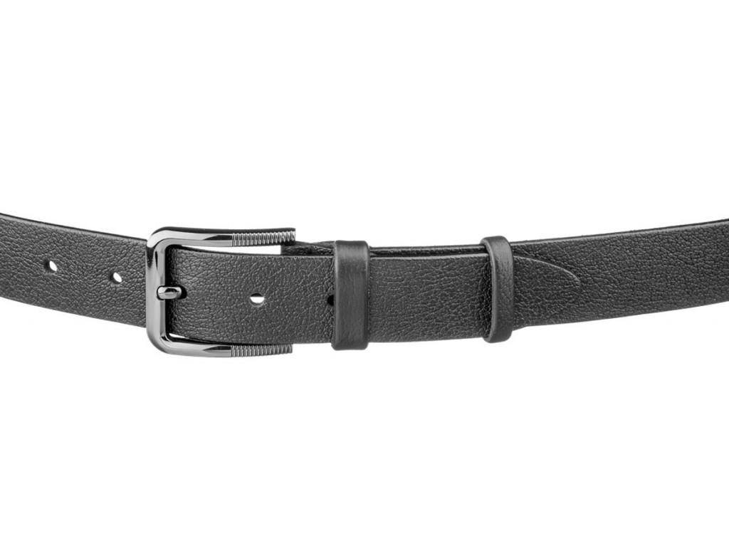 Ремень SHVIGEL 17323 Черный, Черный - Royalbag