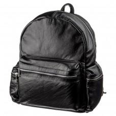 Рюкзак SHVIGEL 11260 кожаный Черный, Черный - Royalbag