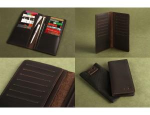 Бумажник SHVIGEL 13789 Коричневый, Коричневый