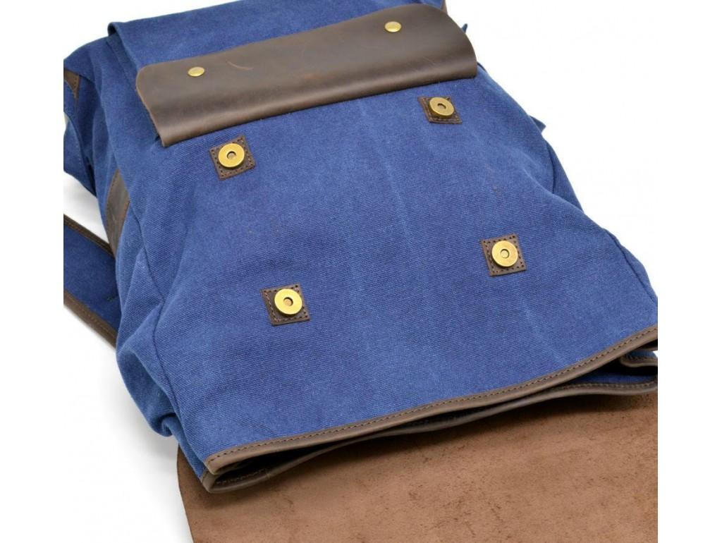 Рюкзак унисекс парусина+кожа RK-9001-4lx бренда TARWA - Royalbag
