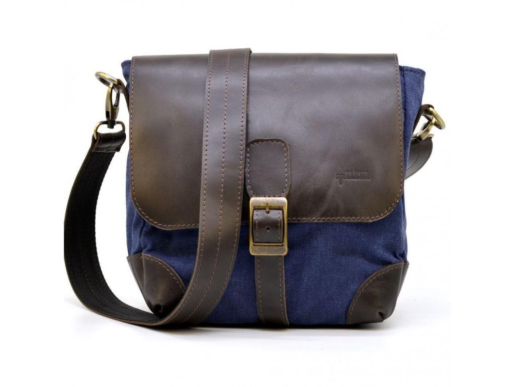Компактная сумка-мессенджер через плечо RK-1309-4lx TARWA - Royalbag