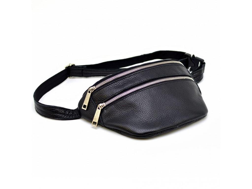 Напоясная сумка унисекс из кожи флотар FA-3093-4lx бренда Tarwa - Royalbag
