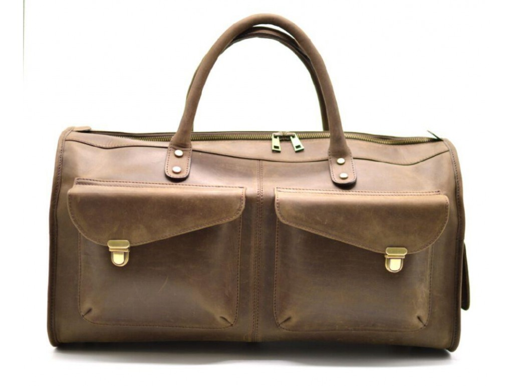 Дорожная кожаная сумка RC-5664-4lx TARWA - Royalbag