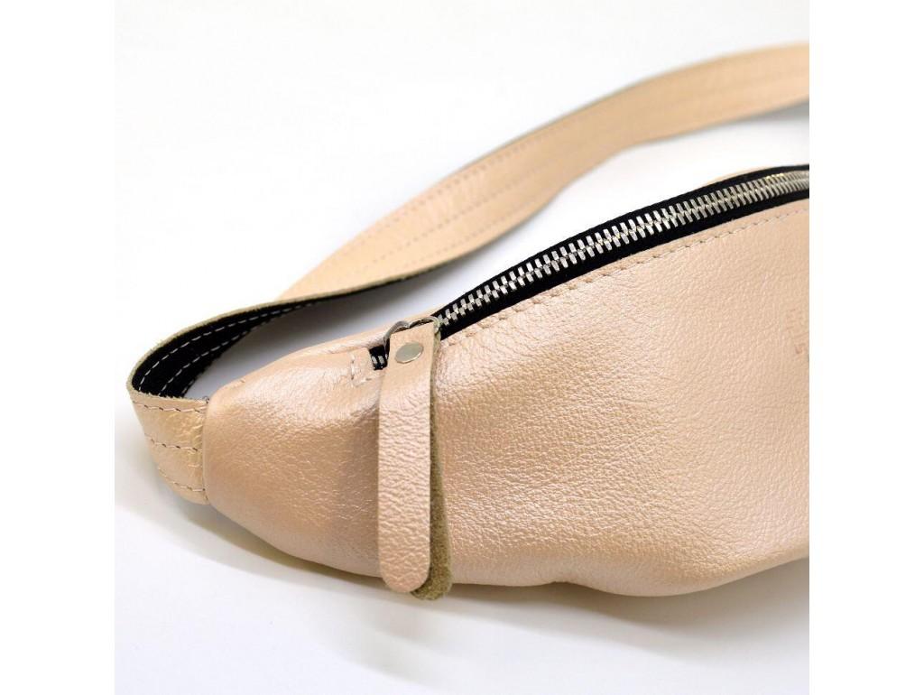 Женская маленькая напоясная сумка из натуральной кожи G5-3004-4lx TARWA - Royalbag