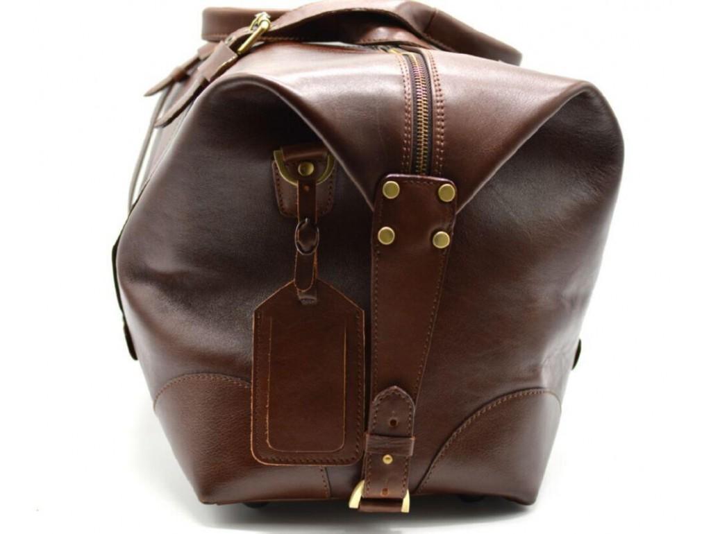 Дорожная сумка из натуральной кожи TARWA, TB-5764-4lx - Royalbag
