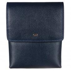 Барсетка кожа мягкая DESISAN 1463-315 синий флотар - Royalbag