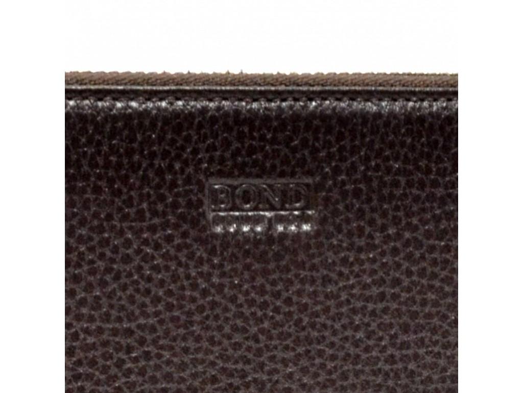 Барсетка кистевая BOND 867-286 коричневый флотар - Royalbag