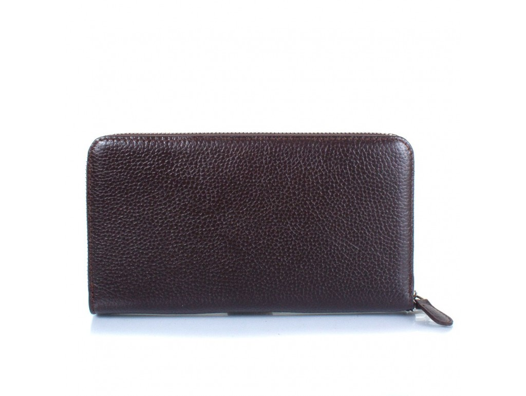 Барсетка кожа мягкая CANPEL 750-14 коричневій флотар - Royalbag