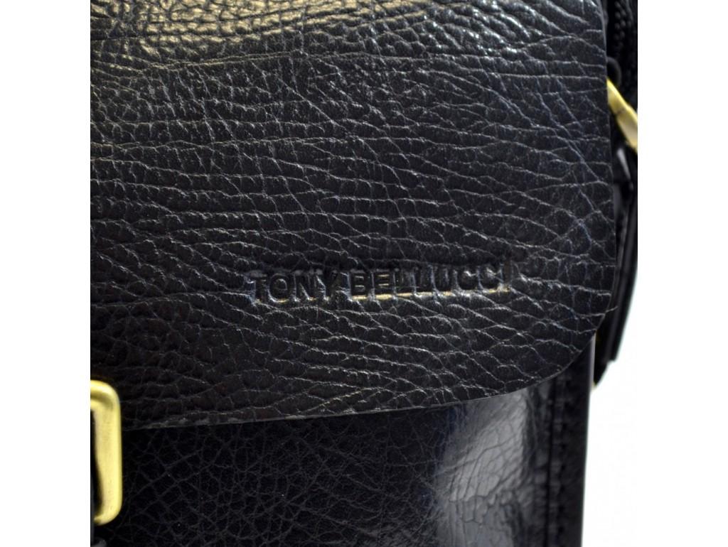 Барсетка мягкая Tony Bellucci 5039-893 черный флотар - Royalbag