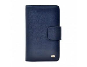 Барсетка кожа мягкая DESISAN 544-315 синий флотар - Royalbag