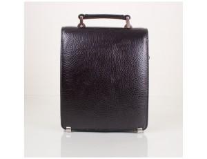 Барсетка кожа DESISAN 248-011 черный флотар - Royalbag