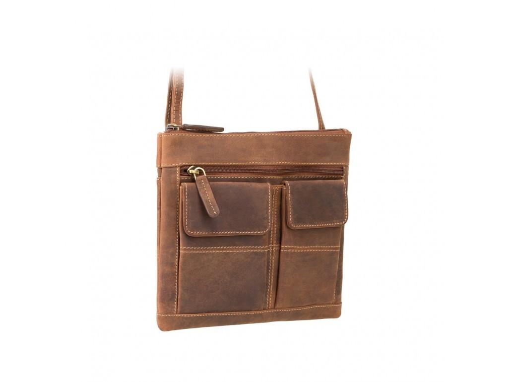 Сумка Visconti 18608 Slim Bag (Oil Tan) - Royalbag