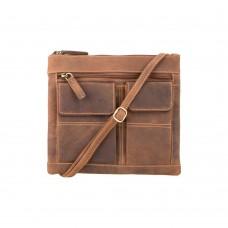 Сумка Visconti 18608 Slim Bag (Oil Tan) - Royalbag Фото 2