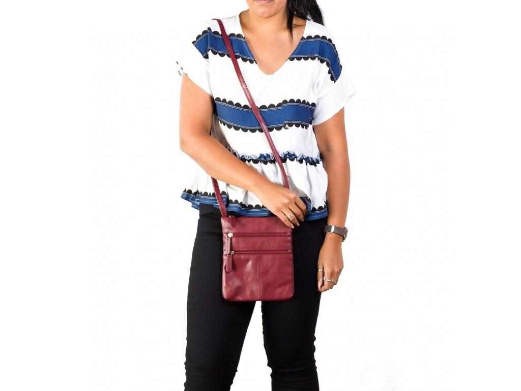 Сумка Visconti 18606 Slim Bag (Red) - Royalbag