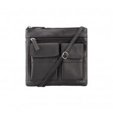 Сумка Visconti 18608 Slim Bag (Black) - Royalbag Фото 2