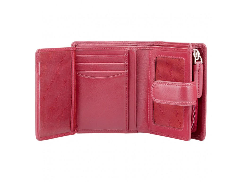 Кошелек женский Visconti HT31 Soho c RFID (Red) - Royalbag