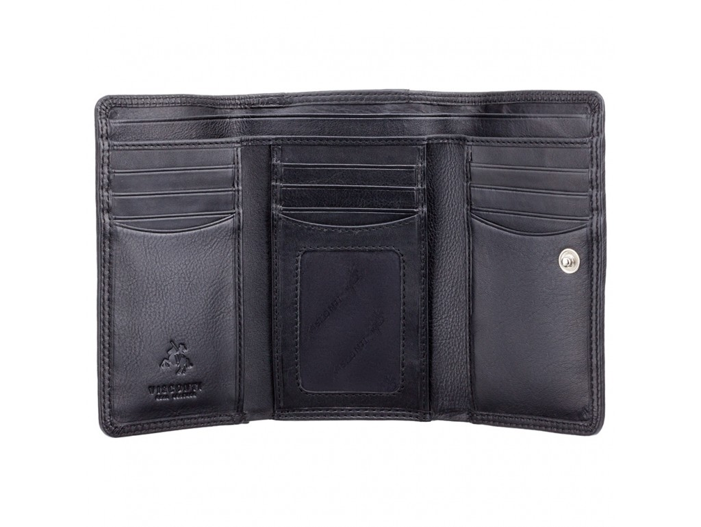 Кошелек женский Visconti HT32 Picadilly c RFID (Black) - Royalbag