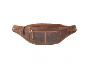 Сумка на пояс Visconti 721 Bumbag Large (Oil Tan) - Royalbag