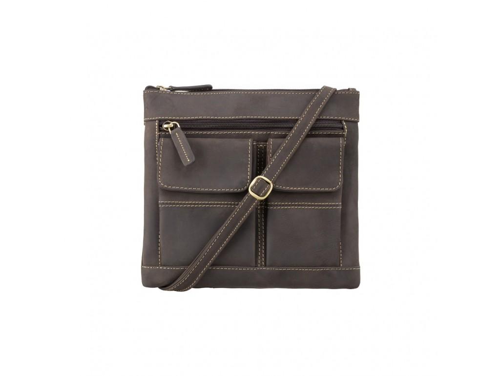 Сумка Visconti 18608 Slim Bag (Oil Brown) - Royalbag