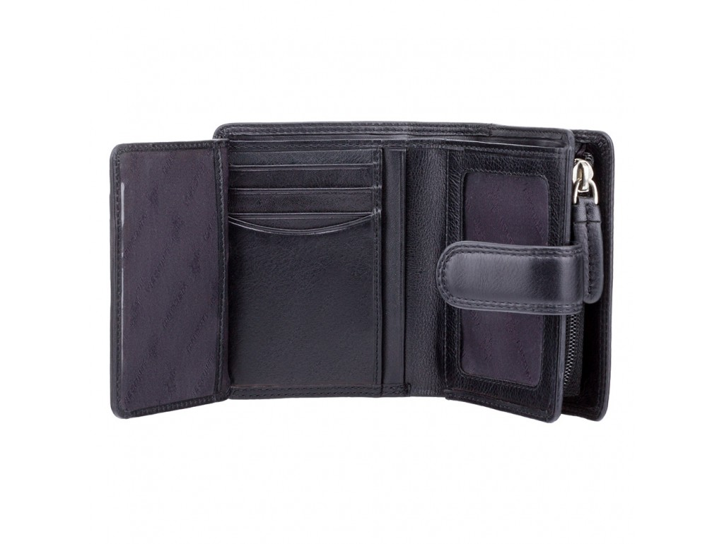Кошелек женский Visconti HT31 Soho c RFID (Black) - Royalbag