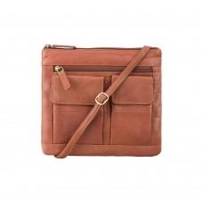 Сумка Visconti 18608 Slim Bag (Brown) - Royalbag Фото 2