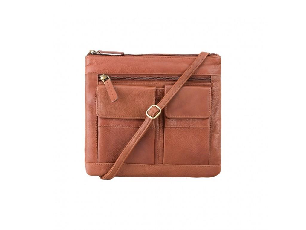 Сумка Visconti 18608 Slim Bag (Brown) - Royalbag Фото 1
