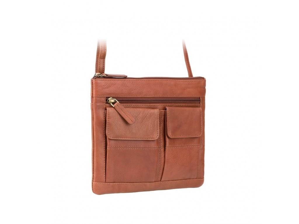Сумка Visconti 18608 Slim Bag (Brown) - Royalbag