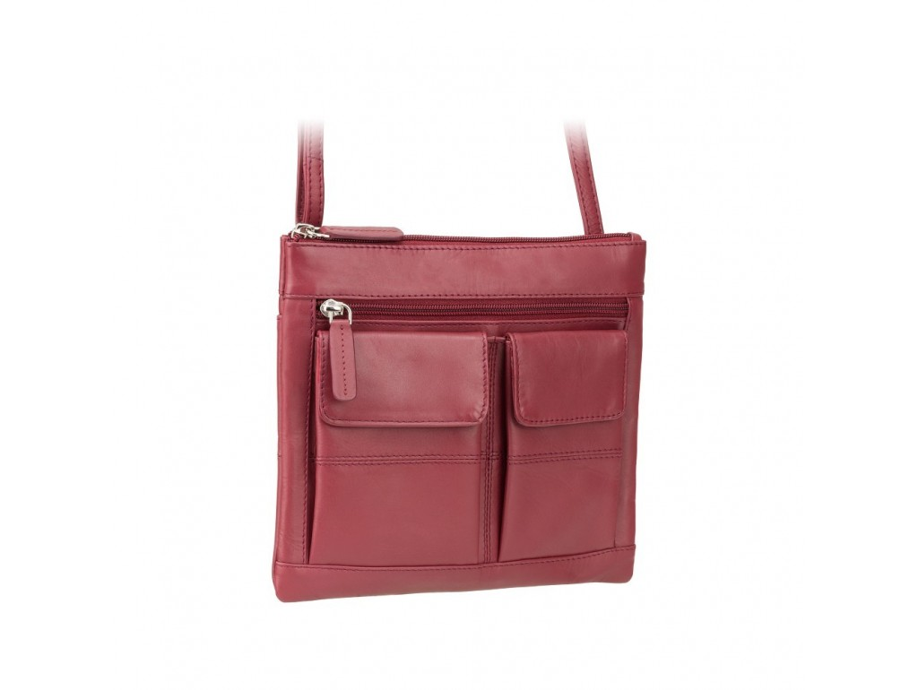 Сумка Visconti 18608 Slim Bag (Red) - Royalbag