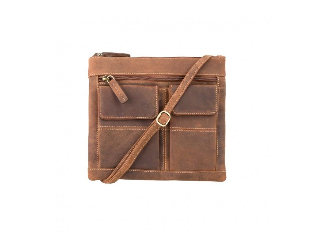 Сумка Visconti 18608 Slim Bag (Oil Tan) - Royalbag Фото 1