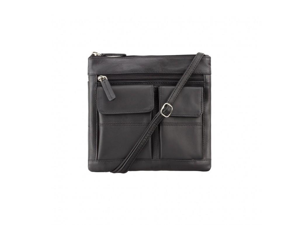 Сумка Visconti 18608 Slim Bag (Black) - Royalbag Фото 1