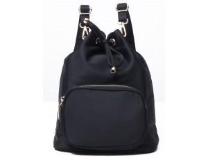 Рюкзак женский нейлоновый Vintage 14871 Черный, Черный - Royalbag