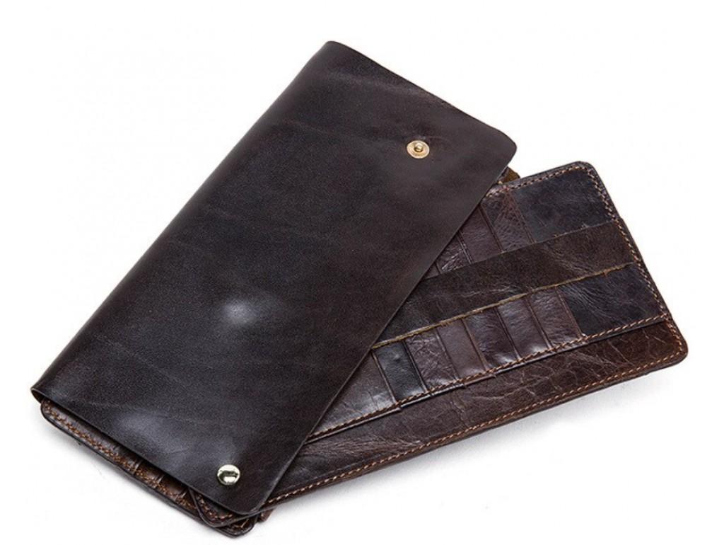 Клатч унисекс Vintage 20054 Черный, Коричневый - Royalbag