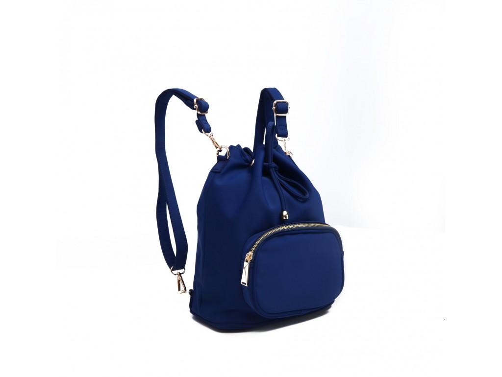 Рюкзак женский нейлоновый Vintage 14806 Cиний, Синий - Royalbag