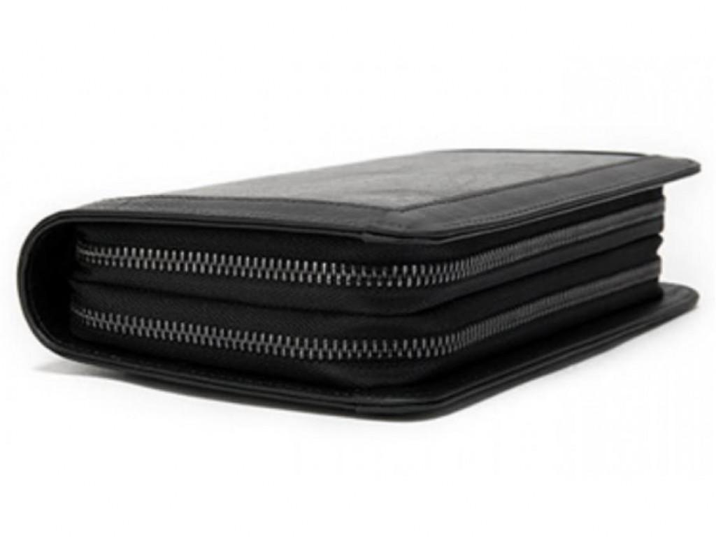 Мужской кожаный клатч черный MS Ms005A - Royalbag