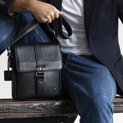 Виды мужских сумок через плечо - Royalbag