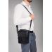 Мужская сумка через плечо черная Tiding Bag N2-8017A - Royalbag Фото 3