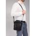 Мужская сумка через плечо черная из натуральной кожи Tiding Bag N2-9801-1A - Royalbag Фото 3