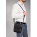 Черная мужская сумка-мессенджер Tiding Bag NM20-6021A - Royalbag Фото 3
