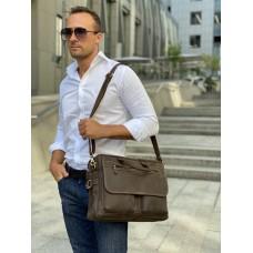 Містка чоловіча сумка-портфель вінтажна шкіра Tiding Bag t29523 - Royalbag