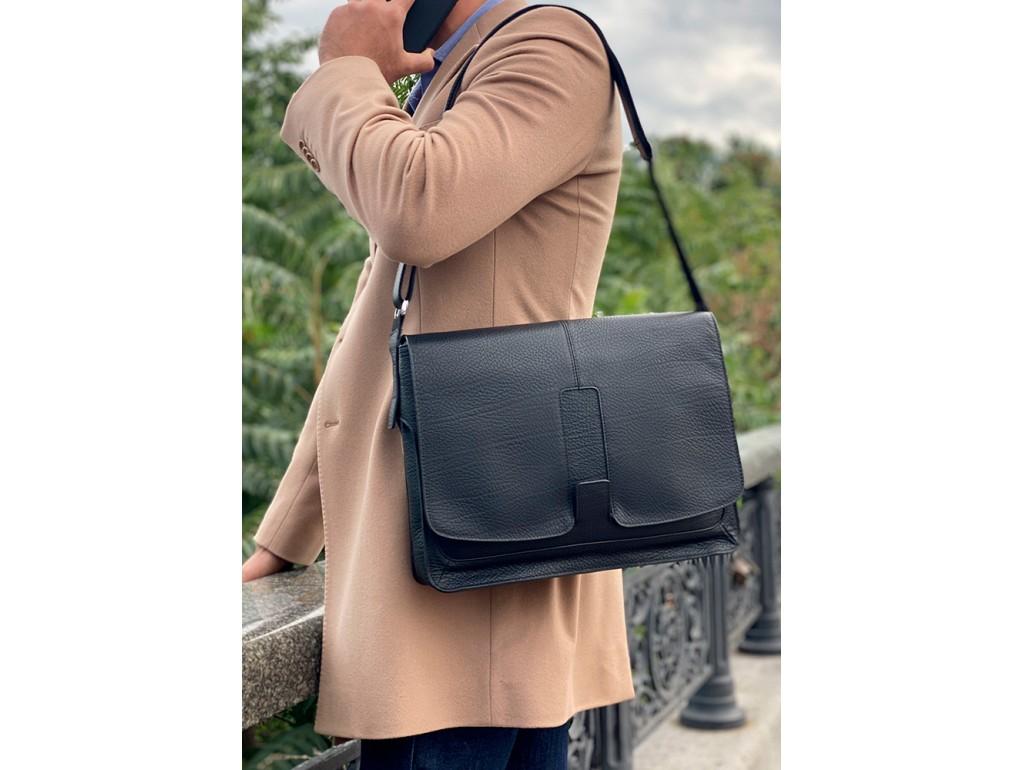Сумка для ноутбука кожаная мужская Royal Bag RB8-1002A - Royalbag