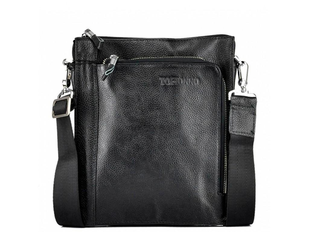 Уценка! Мессенджер мужской кожаный через плечо три отделаTofionno W018-4-5 - Royalbag Фото 1