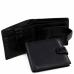 Портмоне черный Tiding Bag A7-258A - Royalbag Фото 3