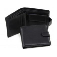 Портмоне мужское черное Tiding Bag A7-259A - Royalbag