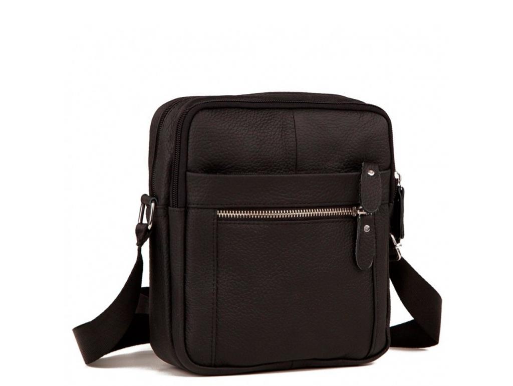 Мужская сумка через плечо кожа Tiding Bag M38-3922A - Royalbag Фото 1
