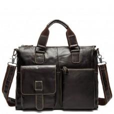 Повседневная мужская сумка из кожи для документов Tiding Bag 7264C - Royalbag
