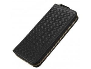Портмоне черное Tiding Bag 8067A - Royalbag