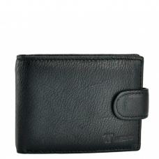 Черный мужской кошелек Horton Collection Tr461A - Royalbag
