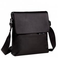 Мужская сумка на плечо натуральная кожа Tiding Bag M2993A - Royalbag