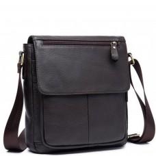 Мужская наплечна сумка из натуральной кожи Bexhill BX819C - Royalbag