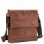 Мессенджер через плечо мужской кожаный Tiding Bag M38-8136C - Royalbag